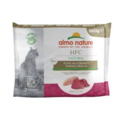 Almo Nature HFC Natural Value Pack tonnikala & kana 6x55g